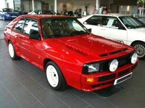 Car Transport Ireland - Audi Quattro